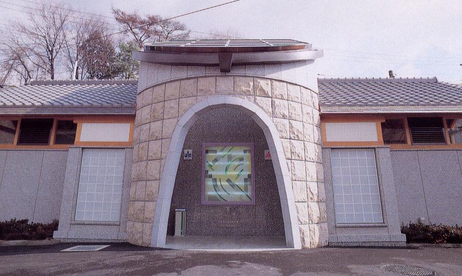 月ヶ瀬村ストーントイレ