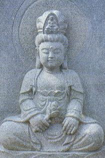 観音様の石像